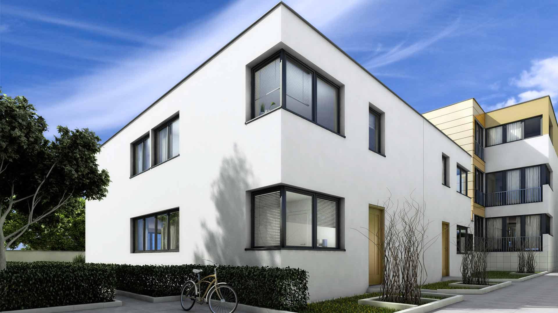3D Visualisierungen Architektur Luxusimmobilien Koeln Holunderweg