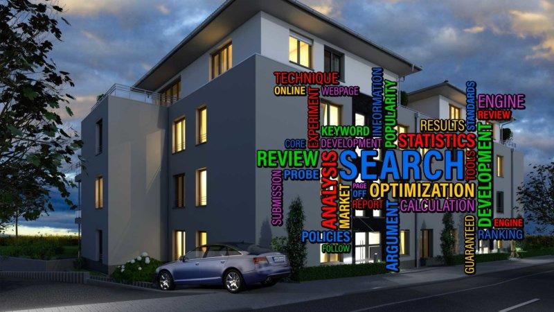 Bilder SEO Optimierung 3D Visualisierung Architektur Metadaten