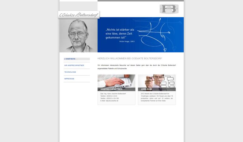 Website Industrie Repa Boltersdorf