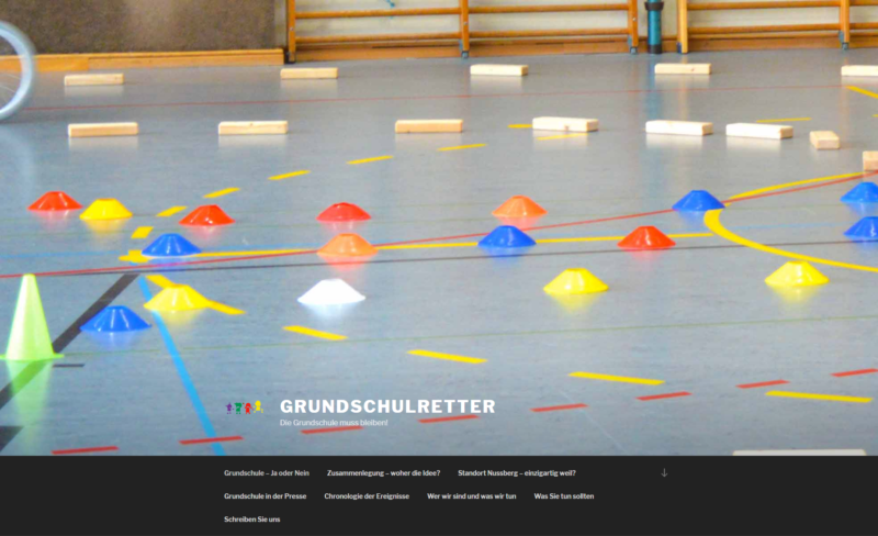 Website Organisation Grundschulretter Iserlohn